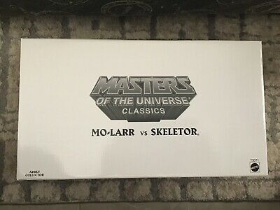 $15 • Buy MO-LARR Vs SKELETOR MOTU MASTERS OF THE UNIVERSE CLASSICS HE-MAN NEVER OPENED