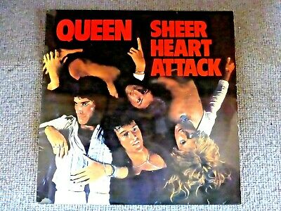 Queen - Sheer Heart Attack (Vinyl LP) EMI UK 1974 EMC3061 Vinyl NEAR MINT  • 35£
