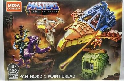 $80 • Buy Masters Of The Universe Mega Construx Set Panthor At Point Dread! Sealed Mint