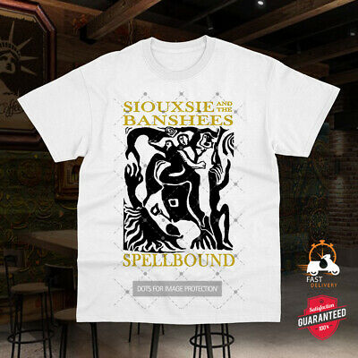 Siouxsie And The Banshees Spellbound Top Tee Vintage Unisex Ladies T Shirt 0636 • 6.99£