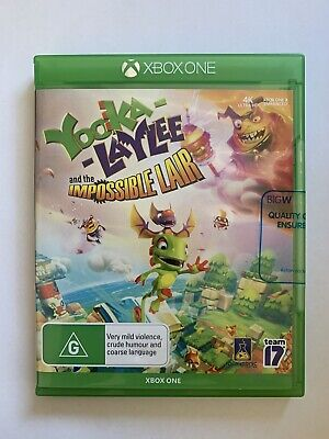 AU24.95 • Buy Yooka Laylee And The Impossible Lair  - Xbox One Game - BRAND NEW