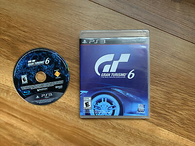 Gran Turismo 6 (PS3 / PlayStation 3) - Good Condition - FREE & FAST POSTAGE • 4.70£