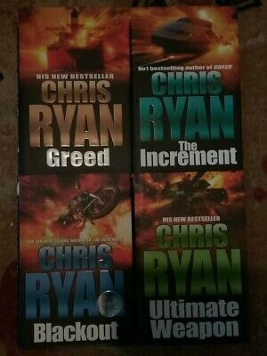 Chris Ryan 1st Editions 4 Hardbacks,2003,4,5,6 One Signed Great Condition  • 12£