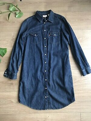 Levi's Ultimate Western Shirt Dress - SIZE Small • 30£