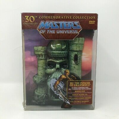 $184.99 • Buy SEALED Masters Of The Universe 30th Anniversary Commemorative Collection DVD
