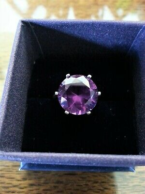AU95 • Buy 10ct COLOR CHANGE PURPLE ALEXANDRITE 925 STERLING SILVER RING SIZE 5 USA MADE