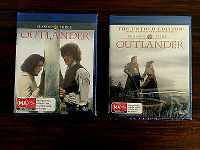 AU44.90 • Buy Outlander Season 3 & Outlander Season 4 Blu Ray (brand New & Sealed)