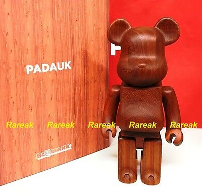 $3699.99 • Buy Medicom Be@rbrick 2017 Karimoku Padauk Luxury Wood Rare 400% Wooden Bearbrick 1p