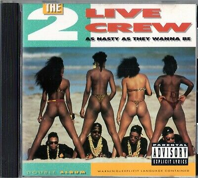 $ CDN24.12 • Buy The 2 Live Crew ‎ As Nasty As They Wanna Be (1989 CD USA)