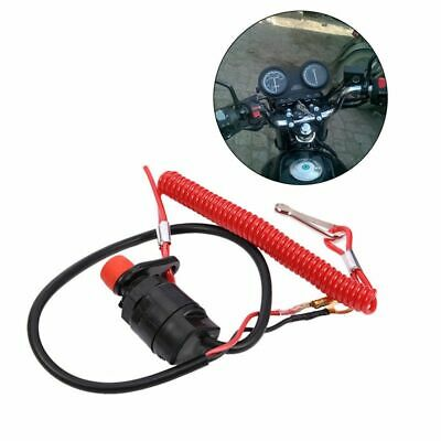AU13.44 • Buy Off Boat Outboard Engine Motorcycle Kill Stop Switch Safety Tether For Yamaha