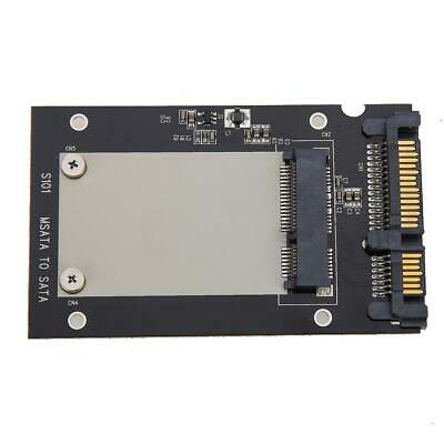 S101 Model MSATA SSD To 2.5  SATA Adapter Converter Card IDE HDD For Laptop • 5.79£