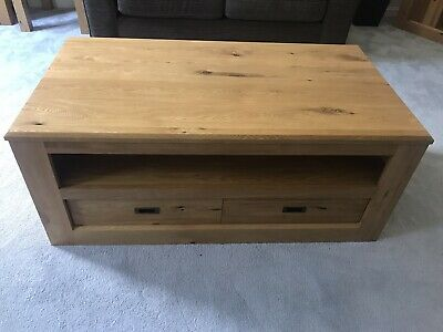Next Hudson Solid Oak Coffee Table • 190£