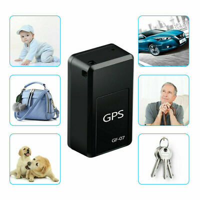 AU15.73 • Buy GF-07 Mini GPS Real Time Car Locator Tracker Magnetic GSM GPRS Tracking Device