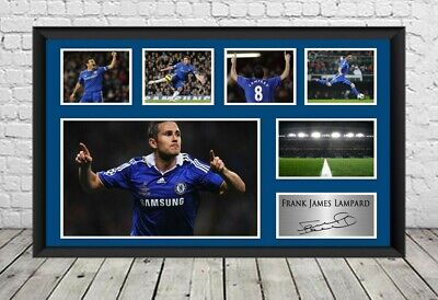 £7.29 • Buy Frank Lampard Chelsea FC Signed Photo Poster Autographed Football Memorabilia