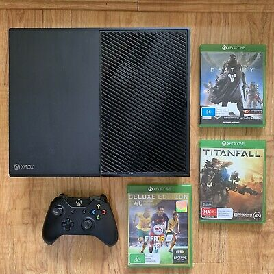 AU249 • Buy Microsoft Xbox One 500GB Black Console + 3 Games + HDMI Cord + Wireless Control