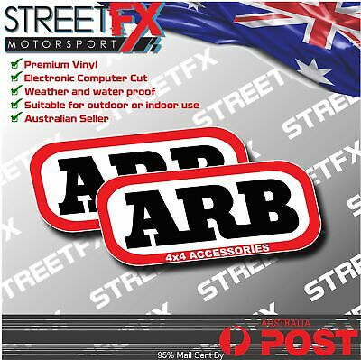 AU6.95 • Buy ARB 4x4 Accessories Decal Sticker Truck Ute 4WD Mod For Hilux Ranger Patrol Dmax