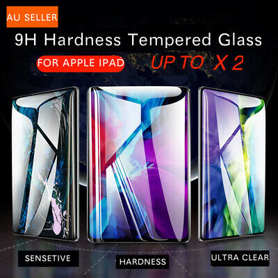 AU9.99 • Buy  FOR IPad 7th 8th 6th 5thGen Air 1 2 9.7 Tempered Glass Screen Protector Up To 2