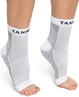 Tanness Plantar Fasciitis Socks For Men & Women,Great Foot Care Compression L/XL • 2.50£