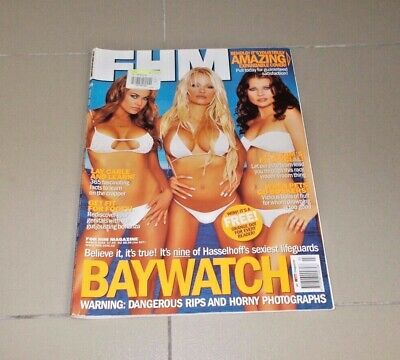 AU36 • Buy FHM Issue 59 March 2003 Baywatch Includes Huge Posters Pamela Anderson