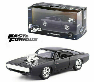AU33.95 • Buy Fast And Furious Dom's 1970 Dodge Charger Rt Jada 1:32 Diecast Model Car Toy