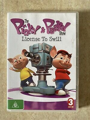 The Pinky And Perky Show - License To Swill Dvd R4 Aus Seller Aus Release • 6.73£