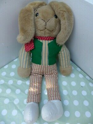 £9 • Buy Charlie Bears Frankies Bunny Toy From Three And Out Film 2008