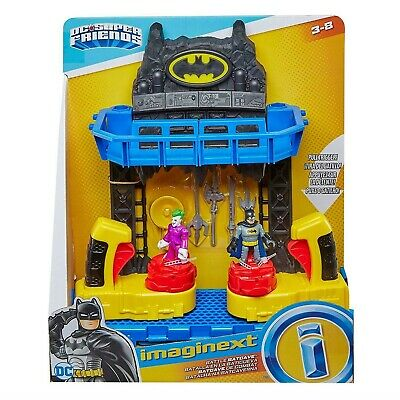 £39 • Buy Imaginext FKW12 Battle Bat Cave With Batman And Joker Figures And 4 Additional