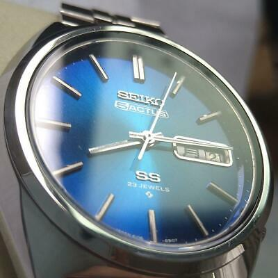 $ CDN222.49 • Buy VERY GOOD Seiko 5 Actus SS 6106-8670 Men's Watch From Japan EXPEDITED SHIPPING