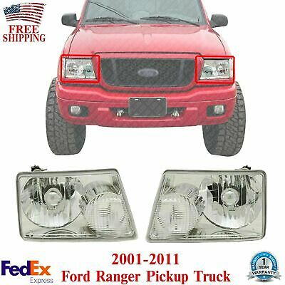 $97.32 • Buy Front Headlights Set Left & Right Pair For 2001-2011 Ford Ranger Pickup Truck