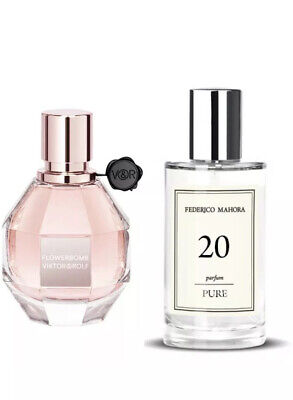 FM 20 Fragrance Inspired By Victor & Rolf Flowerbomb 50ml • 13.90£