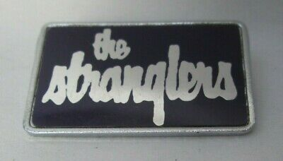 The Stranglers Vintage Early 1980s Metal Brooch Badge Pin Button Punk New Wave • 9.99£