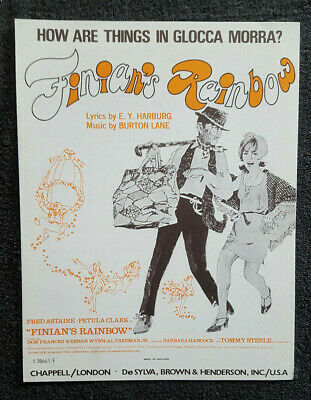 How Are Things In Glocca Morra? Finians Rainbow Sheet Music.Excellent Condition. • 9.50£