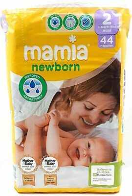£4.99 • Buy ALDI Mamia Newborn Nappies, Ultra Dry Air System, Size 2 (44 Nappies)
