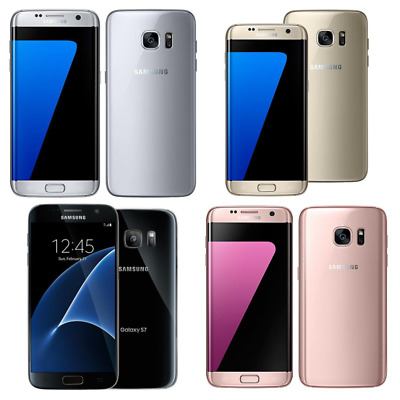 $ CDN187.11 • Buy Samsung Galaxy S7 / S7 EDGE - 32GB - Assorted Colors - GSM Unlocked - Smartphone