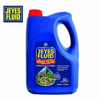 Jeyes Ready To Use Fluid Outdoor Cleaner & For Paths, Patios & Pet 4L • 12.65£