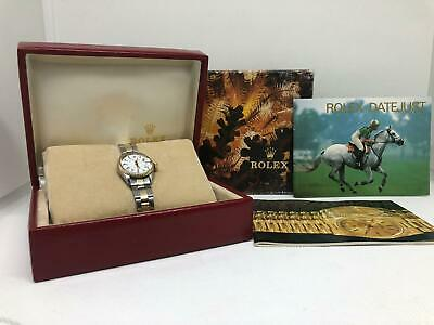 $ CDN4228.64 • Buy Ladies Rolex Oyster Perpetual Datejust Watch Two Tone 26mm