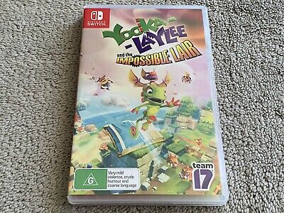 AU29.99 • Buy Yooka-Laylee And The Impossible Lair (Nintendo Switch, 2019) Free Postage