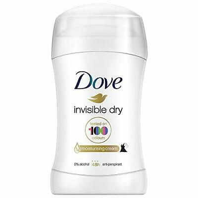 Dove Invisible Dry Deodorant Stick, Roll On Deodorant For Men And Women For A • 2.99£