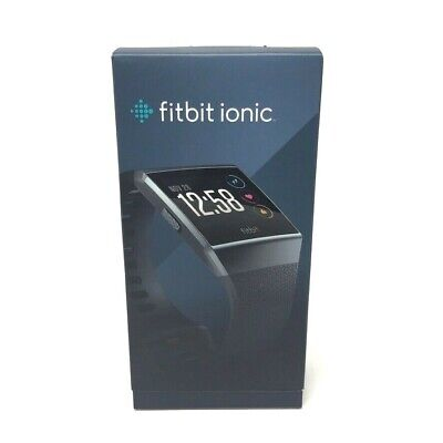 $ CDN170.96 • Buy Fitbit Ionic Bluetooth Activity Tracker - Charcoal/Smoke Grey, One Size...