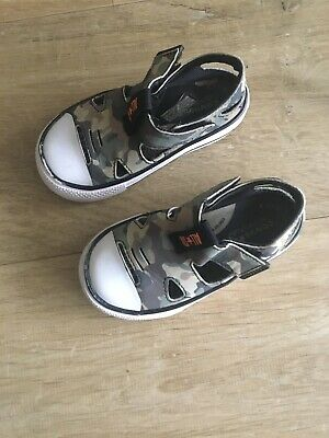 Converse All Star Camouflage Boys Infant Sandals Infant 8 • 15£