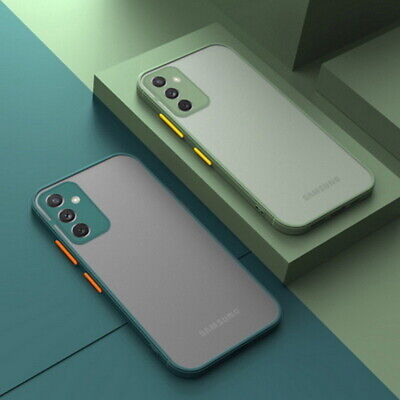 $ CDN4.56 • Buy For Samsung A21S A51 A71 S20 S10 Shockproof Hybrid Matte Clear Hard Case Cover