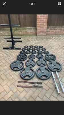 Olympic Weight Plate Set&Marcy Bench • 1,000£