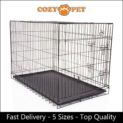 £30.99 • Buy Dog Cage By Cozy Pet Puppy Crates 5 Sizes S M L XL XXL Cat Carrier Transport New