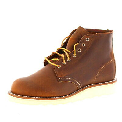 Red Wing Shoes Ladies - Lace Up Boots 6 Round 3451 - Copper • 189.99£