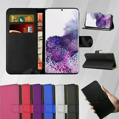 $ CDN5.10 • Buy Case Cover For Samsung Galaxy S8 S9 S20 Plus NOTE 20 9 Leather Wallet Book Phone