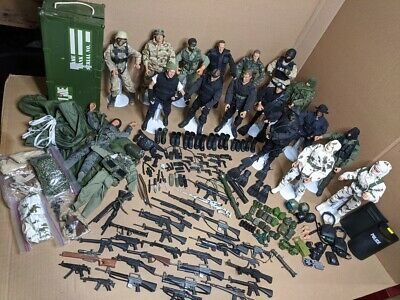 $ CDN299 • Buy Lot Of 17  GI JOE  Style 12  Action Figures W/extra Clothes, Weapons Accessories