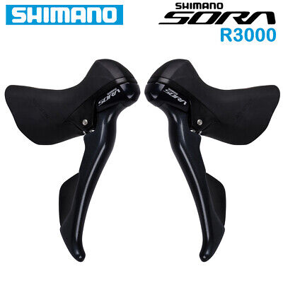 AU205.01 • Buy SHIMANO SORA ST R3000 Shifter Dual Control Lever 2x9 Speed Road Bike Bicycle