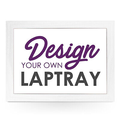 Design Your Own Wood Frame Personalised Cushioned Lap Tray  • 29.95£