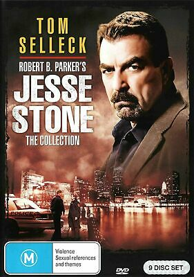 JESSE STONE Complete 9 Film Collection (Region 2 UK Compatible) DVD Tom Selleck • 38.99£