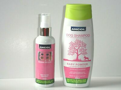 Ancol Luxury Dog Puppy Shampoo Cologne All Scents Puppy Bath Time • 6.50£